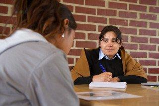 Psychologinnen und Sozialarbeiterinnen betreuen die Kinder und Jugendlichen in der Aldea. Foto: SMMP/Bock
