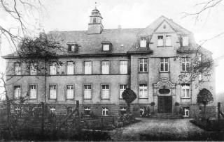 Das Krankenhaus in Westerholt kurz nach dem Bau 1914. Foto: Archiv