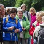 Die Pilgerinnen und Pilger freuen sich darauf, dass es los geht. Foto: SMMP/Bock
