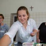 Flammkuchen und andere Leckereien entstanden beim Kochworkshop. (Foto: Beer/SMMP)
