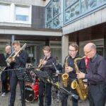 Die Soulband des Walburgisgymnasiums lieferte die Tafelmusik.