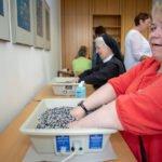 Alles Gute für die Hände bot die Ergotherapie vom Kloster Öhlinghausen.