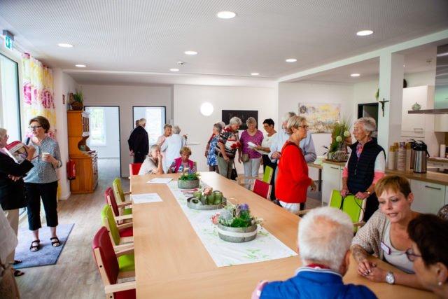 Tag der offenen Tür in der neuen Senioren-WG St. Ida in Dorsten-Holsterhausen. (Foto: SMMP/Beer)